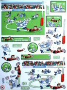 DS429 Life Smiles Rugby, A4 Decoupage sheet