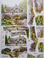 A4 Die Cut Decoupage Sheet