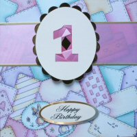 IF1575, Thanks, Triple Pastel Colours, Iris Folding Card Kit