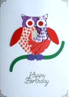 IF1651, Funky Chick,Happy Easter, Iris Folding Card Kit