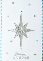 IF1689, Bethlehem Star , Happy Christmas, Iris Folding Card Kit