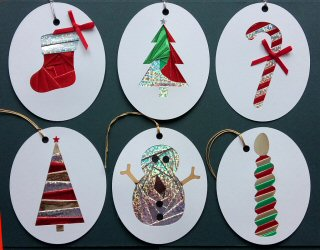 CRAFTEE xmas Nines cards