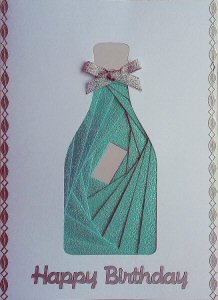 IF1931, Train,Green & Blue,Happy Birthday,Iris Folding Card Kit (104mm x 148mm)