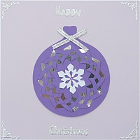 Christmas Iris Folding Toppers Kit